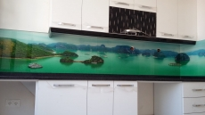3d Mutfak Tezgah Arası Cam Panel Fiyatları Modelleri Gergi Tavan
