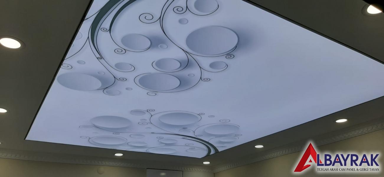 Mutfak gergi tavan ve dekorasyon seçimi.